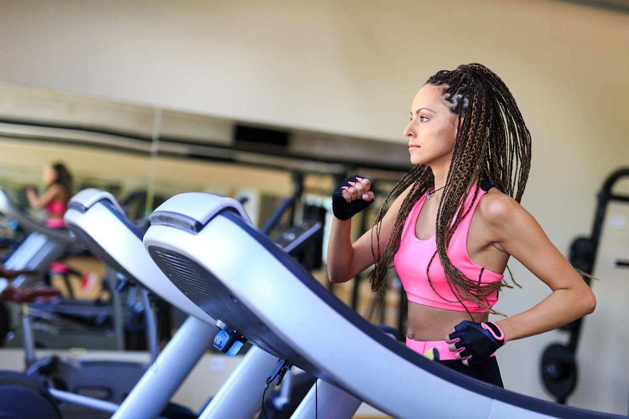 "<p>The treadmill has so much potential for workouts other than running at the same speed for minutes that seem hours long. You <a href=""https://www.popsugar.com/fitness/How-Do-You-Do-HIIT-Treadmill-46137213"" class=""ga-track"" data-ga-category=""Related"" data-ga-label=""http://www.popsugar.com/fitness/How-Do-You-Do-HIIT-Treadmill-46137213"" data-ga-action=""In-Line Links"">can do HIIT</a> or longer intervals of sprints. You can take advantage of the incline and get your hike on - which is actually more bang for your buck booty-wise since trainers agree that it's the best kind of <a href=""https://www.popsugar.com/fitness/Treadmill-Workouts-Bigger-Butt-46125135"" class=""ga-track"" data-ga-category=""Related"" data-ga-label=""http://www.popsugar.com/fitness/Treadmill-Workouts-Bigger-Butt-46125135"" data-ga-action=""In-Line Links"">treadmill workout to build your glutes</a>. Heck, you can even walk! It's easier to change it up when you're guided by some apps discussed before, but you can also <a href=""https://www.popsugar.com/latest/Treadmill-Workouts"" class=""ga-track"" data-ga-category=""Related"" data-ga-label=""http://www.popsugar.com/latest/Treadmill-Workouts"" data-ga-action=""In-Line Links"">find inspiration here</a>.</p>"