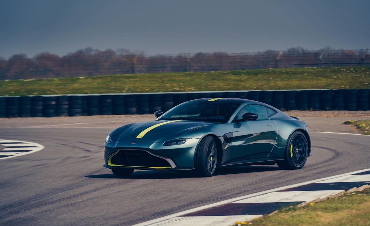 "<p>That seven-speed manual transmission that was first used in <a href=""https://www.caranddriver.com/reviews/a15101340/2017-aston-martin-v12-vantage-s-manual-drive-review/"" target=""_blank"">the old V12 Vantage S</a>.</p>"