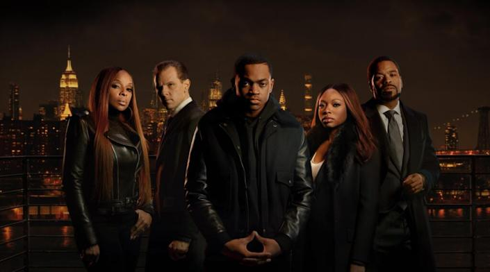 "The cast of ""Power Book II: Ghost"""