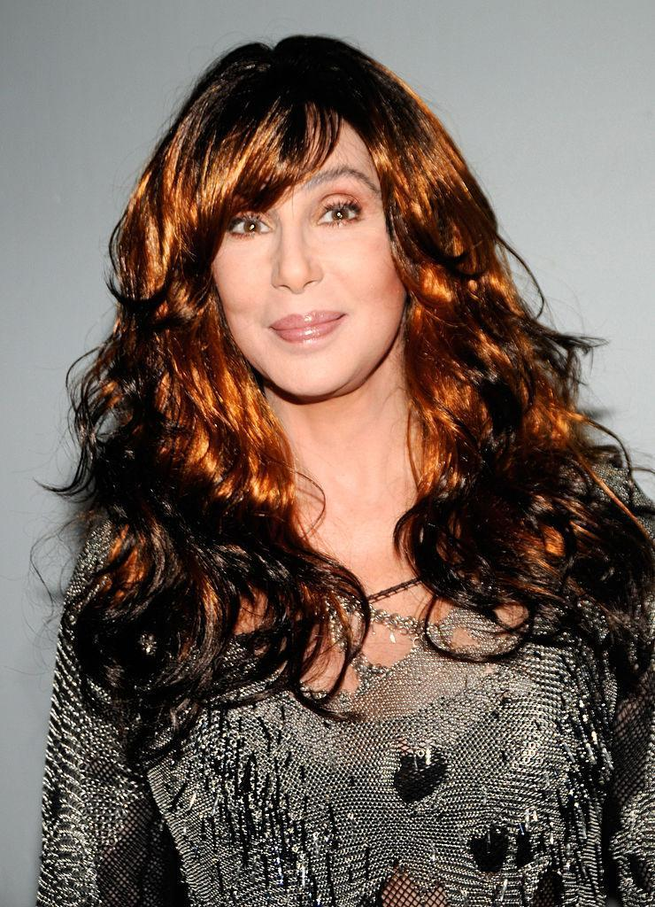 <p>Cher sported a black-tipped ginger 'do in 2008 — the same year, incidentally, that she began a Las Vegas residency at Caesars Palace. <i>(Photo: Getty Images)</i></p>