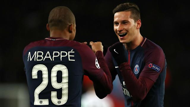 The signings of Neymar and Kylian Mbappe gave Julian Draxler a conundrum at Paris Saint-Germain, but he says he never thought about leaving.