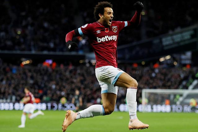 West Ham winger Felipe Anderson reveals how he adapted to 'really hard' Premier League