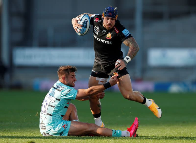 Nowell to start for Exeter in Champions Cup final