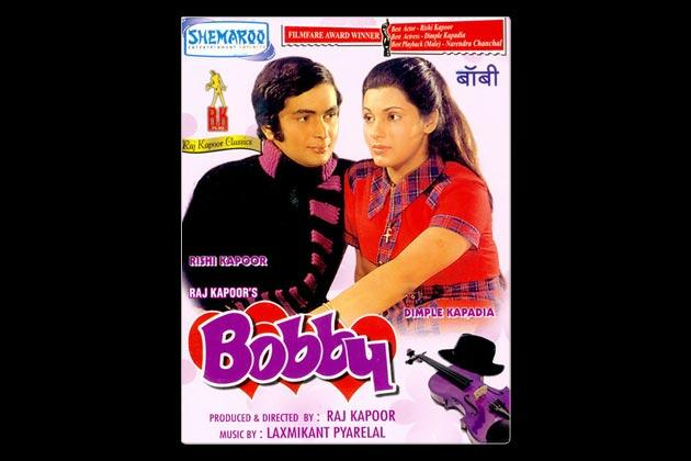 Raj Kapoor's 'Bobby' was a teenage love story between Rishi Kapoor and Dimple Kapadia. It was a typical Bollywood story where parents were against the love birds but with lovely songs, the film made for a fun watch.