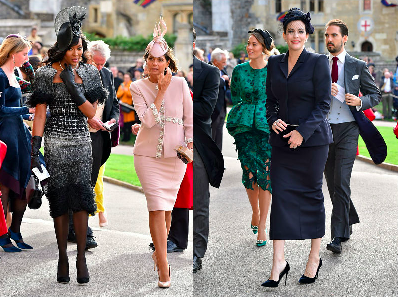A look at the A-list guests at Princess Eugenie's wedding. (Photo: Getty Images)