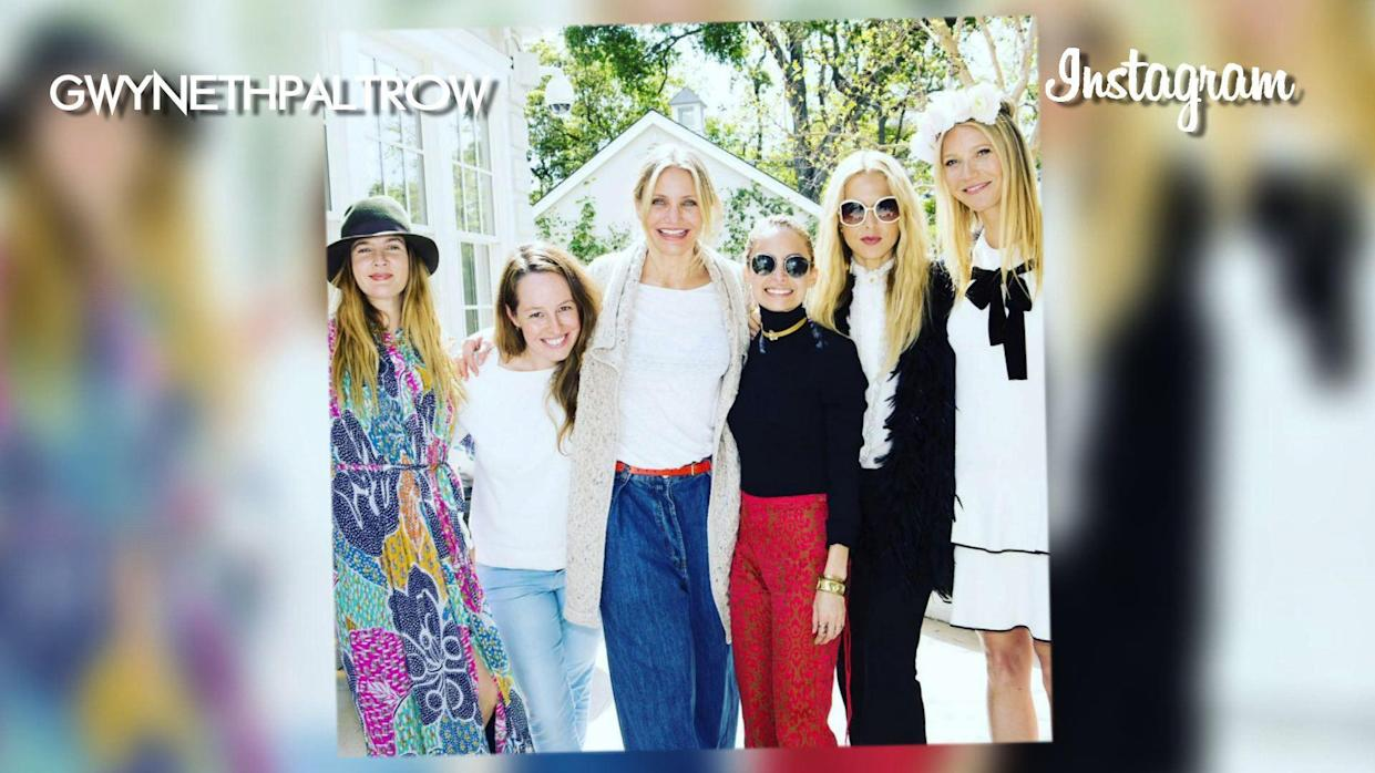 Gwyneth Paltrow A-List Party to Launch Skin Care Line