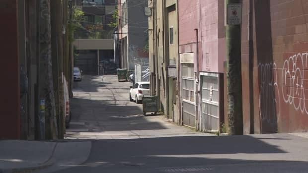 Vancouver police say a man who was run over by a car last week as he slept at the entry of an underground parkade near Gore Street and Union Avenue has now died of