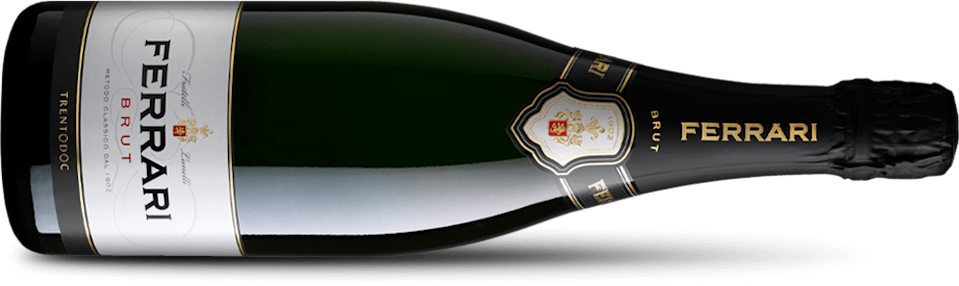 """<p>It wouldn't be a celebration if there wasn't bubbly involved. One and a half litres of <a href=""""https://www.ferraritrento.com/en/collection/ferrari-brut/"""" rel=""""nofollow noopener"""" target=""""_blank"""" data-ylk=""""slk:Ferrari Brut Trento's"""" class=""""link rapid-noclick-resp"""">Ferrari Brut Trento's</a> DOC Magnum does the job quite nicely. The official sponsors of Formula 1 are used to being sprayed in victory, but we would recommend savouring this well-balanced sparkling wine.</p>"""