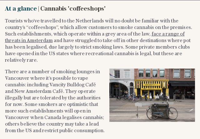 At a glance | Cannabis 'coffeeshops'