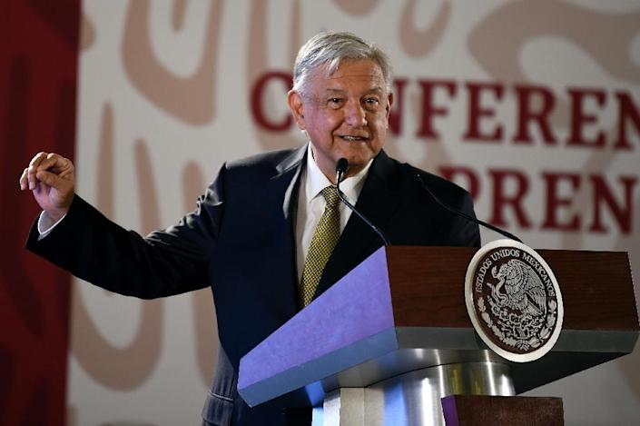 One of the first things Andres Manuel Lopez Obrador did when he became Mexico's president in December 2018 was to dissolve a domestic intelligence agency accused of targeting opposition figures (AFP Photo/ALFREDO ESTRELLA)