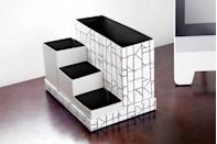 <p>Tidy up your desk space with this handy monochrome organiser. Perfect for popping in files, papers, pens, notebooks and to-do lists. </p>