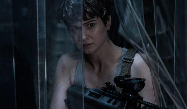 Katherine Waterston in Alien: Covenant - Credit: 20th Century Fox