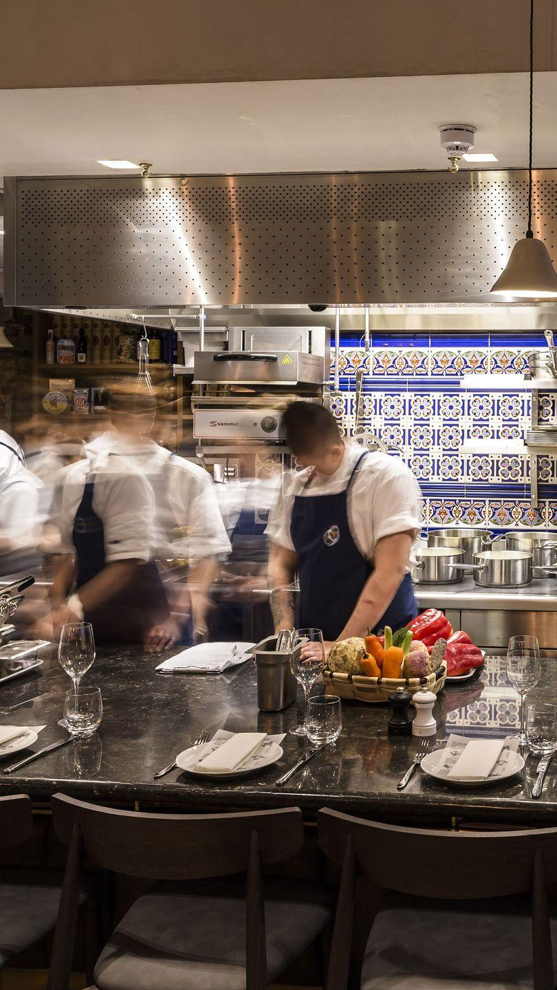 """<p>Split into three areas – The Counter, the bar and the El Asador - each offers a different taste and experience of Spanish cuisine. Sit up at the counter for smaller tapas dishes served with gorgeously sour Txakoli wine, or feast on whole suckling pig upstairs.</p><p>35-37 Heddon Street, W1B 4BR</p><p><strong><a class=""""link rapid-noclick-resp"""" href=""""https://www.saborrestaurants.co.uk/"""" rel=""""nofollow noopener"""" target=""""_blank"""" data-ylk=""""slk:FIND OUT MORE"""">FIND OUT MORE</a></strong></p>"""