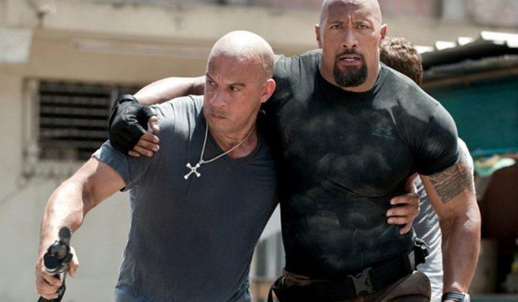 Dwayne Johnson and Vin Diesel carry the Fast and Furious franchise - Credit: Universal