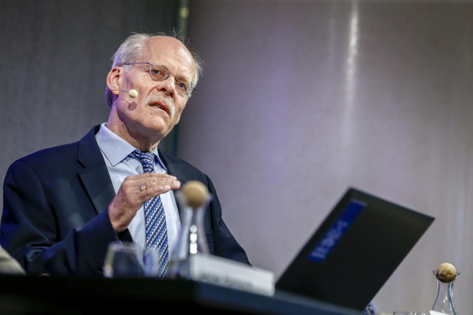 Sweden's Riksbank Governor Stefan Ingves said 'private money usually collapses sooner or later'. Photo: Getty Images