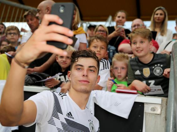 Havertz is one of a number of exciting young German talents (Getty)