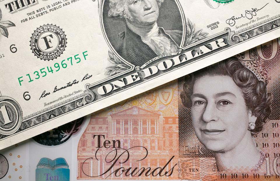 Sterling slipped to $1.3946 against the dollar on Friday. Photo Illustration by Matt Cardy/Getty Images