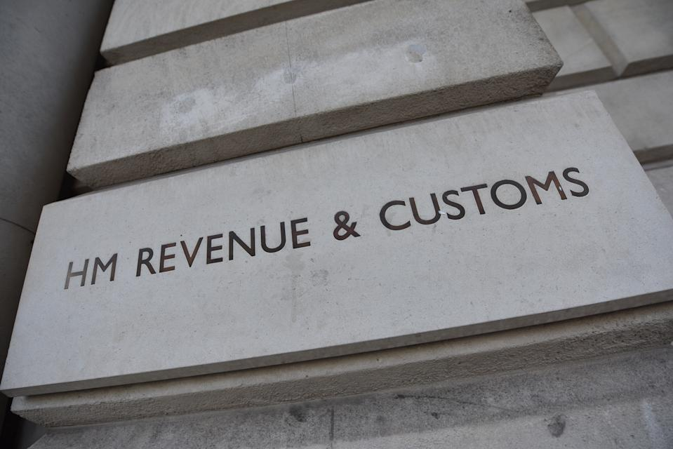 LONDON, ENGLAND - MARCH 28: HM Revenue and Customs office in Whitehall on March 28, 2019 in London, England. (Photo by John Keeble/Getty Images)