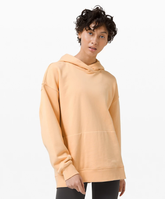 Perfectly Oversized Hoodie in ivory peach