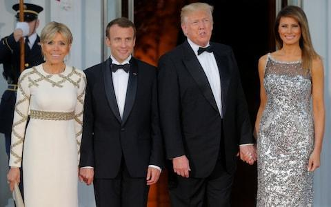 Emmanuel Macron has tried to convince Donald Trump to stay in the Iran deal - Credit: REUTERS/Brian Snyder