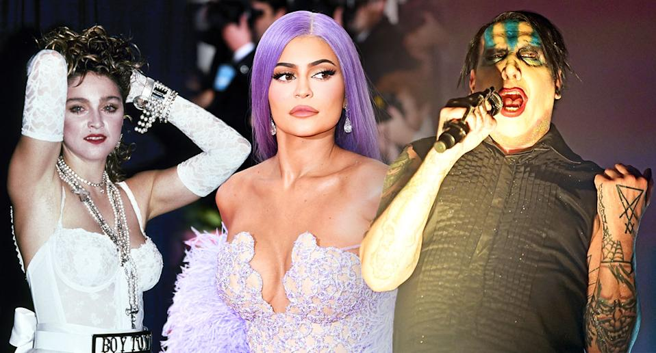 Celebrities are paying homage to other iconic stars this Halloween. [Photo: Getty]