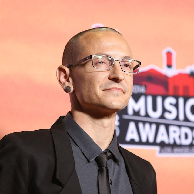 Today marks the one-year anniversary of Chester Bennington's suicide. (Photo: Getty Images)