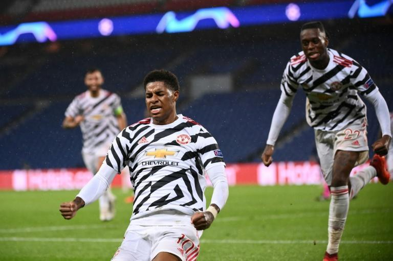 Marcus Rashford again scored the crucial goal as Manchester United beat Paris Saint-Germain in the Champions League
