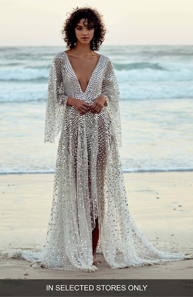 4b54f1cb0bf  h2 Chosen By One Day Toby Custom Embellished High Low Gown