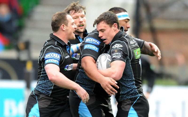 Glasgow Warriors face an uphill battle to make the Pro12 play-offs - Rex Features