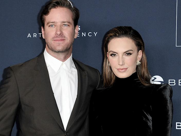 armie hammer and elizabeth chambers november 2019