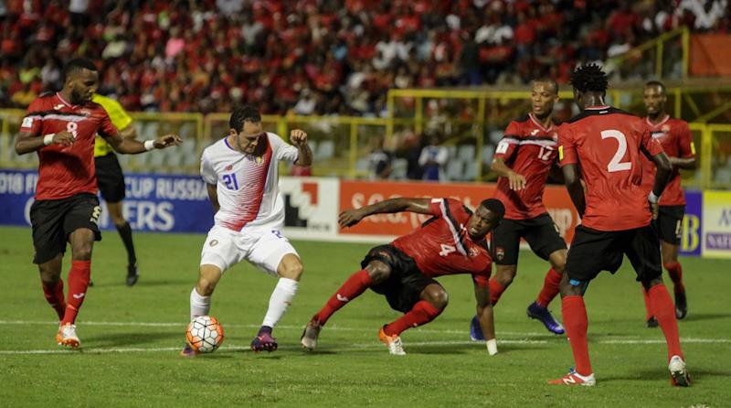Costa Rica tops Trinidad and Tobago in World Cup qualifying