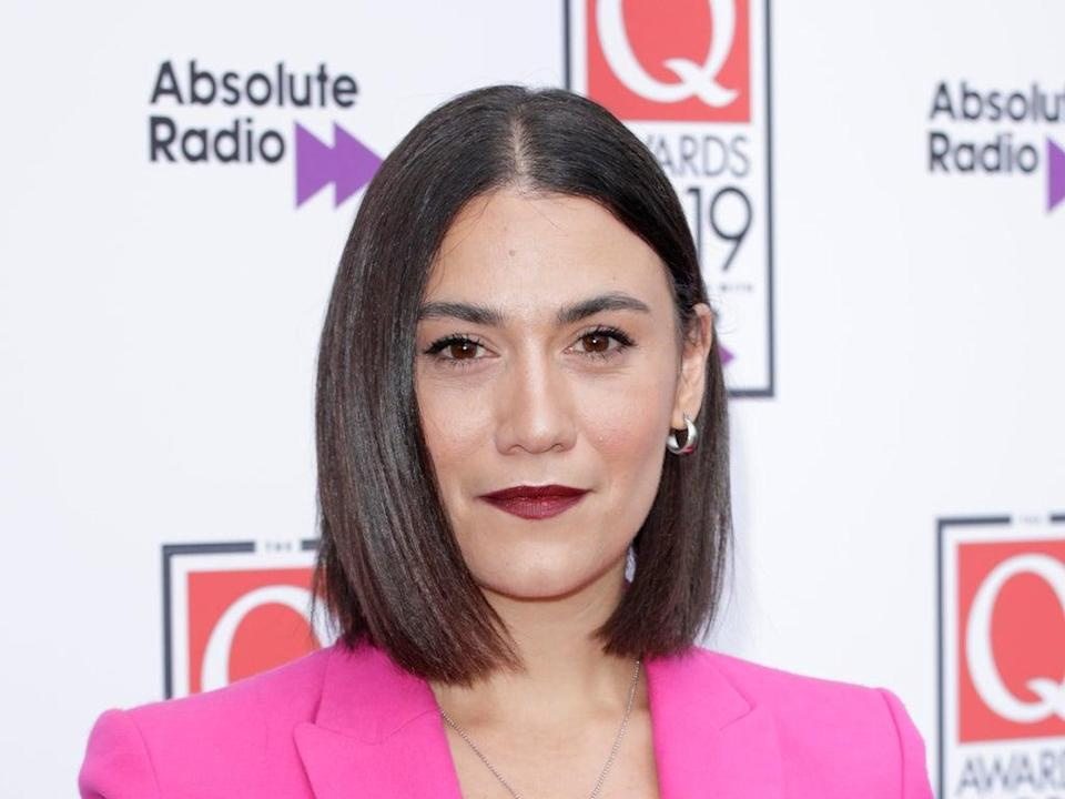 Nadine Shah pictured at the Q Awards in 2019 (Getty Images)