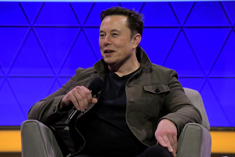 Odd sound: Elon Musk (Photo: Charley Gallay/Getty Images for E3/Entertainment Software Association) (Getty Images for E3/Entertainmen)