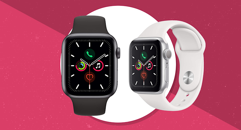 Father's Day is a comin': Get the newest Apple Watch Series 5 starting at just $299. (Photo: Apple)