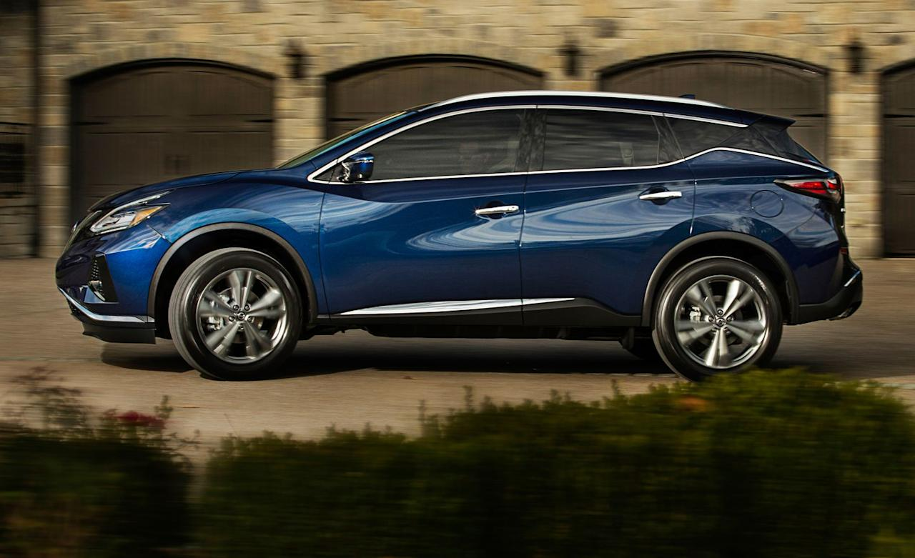"""<p>The Murano has been redesigned a couple of times since then, saw a hybrid briefly join the lineup, and even spawned <a rel=""""nofollow"""" href=""""https://www.caranddriver.com/reviews/2011-nissan-murano-crosscabriolet-test-review"""">an ill-advised two-door convertible</a> model called the CrossCabriolet.</p>"""