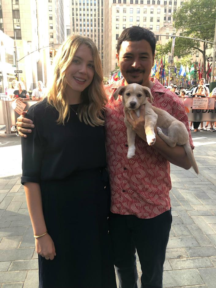 TODAY show Clear the Shelters adoption 2019 (Jaslin Marine)
