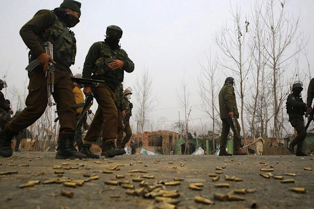 J&K: Two Hizbul Terrorists Gunned Down By Security Forces In Awantipora Encounter