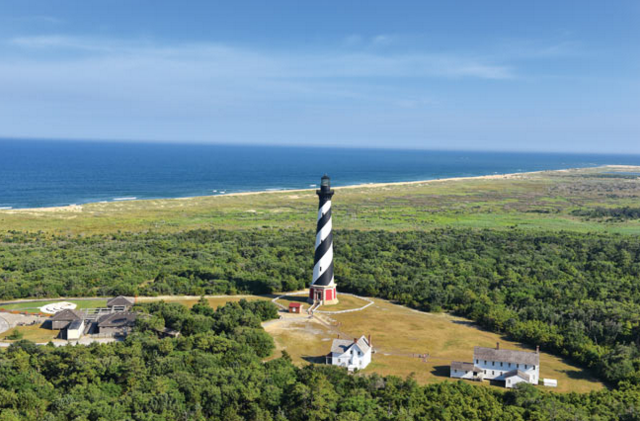 <p>Where: North Carolina<br></p><p>If you've ever watched the Weather Channel during Atlantic hurricane season, you're no doubt familiar with Cape Hatteras: a destination that's been pummeled by many storms over the years. Hatteras Island is southwest of the Cape and is absolutely worth a visit—especially when the sun is shining. If you fish, you owe it to yourself to get out on the water here. Watersports of all kinds are also popular: visitors flock to Hatteras sound for swimming, kayaking, kiteboarding, and windsurfing while there's fishing and surfing on the ocean side.</p><p>Insider Tip: Hatteras is on the radar of every serious surfer. That's because something called the Labrador Current pushes cold water into the warm Gulf Stream and the result are some of the most powerful waves on the East Coast.</p><p><i>(Photo: Aaron Tuell / courtesy Outer Banks Visitors Bureau)</i></p>