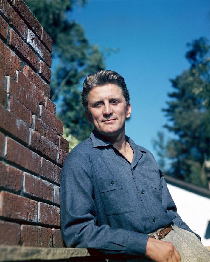 <p>Kirk Douglas is one of the most recognizable names in Hollywood, but the actor was born as Issur Danielovitch Demsky and changed his name when he went into acting. </p>