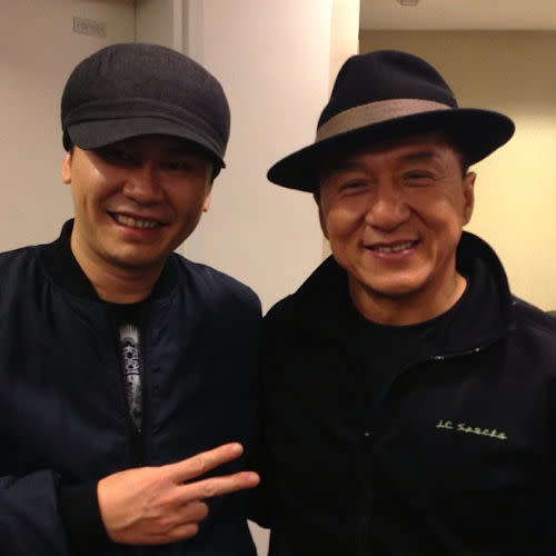 .. and with Jackie Chan too!