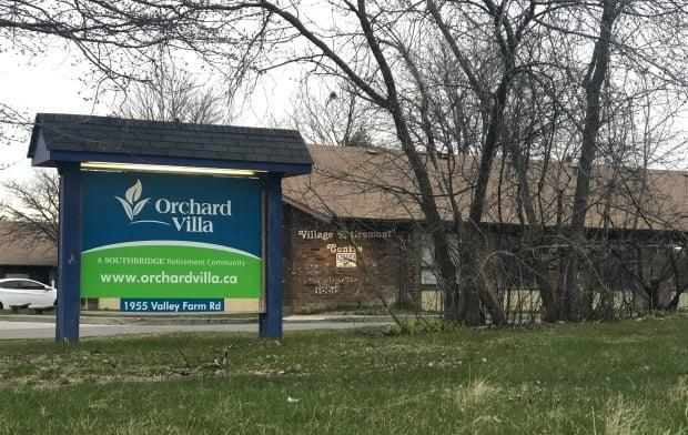 The Ontario government is now considering a proposal for a new 30-year licence for the Orchard Villa long-term care home — a move some family advocates say ignores the history of problems at the home.   (Angelina King/CBC - image credit)