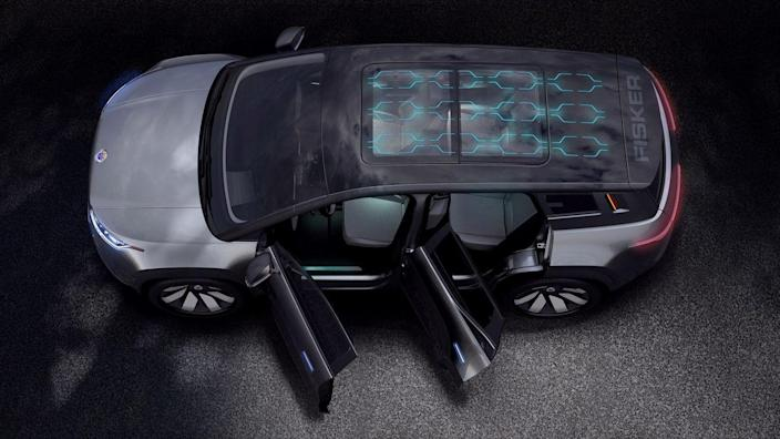 Henrik Fisker is relaunching his namesake car company with this electric SUV, the Ocean. We like that all six of its side windows, as well as its rear glass, retract to let in the sun. But we really appreciate the sun being absorbed into the battery-charging solar panels embedded in its roof, which Fisker claims can provide up to 1,000 miles of free, renewable range each year.