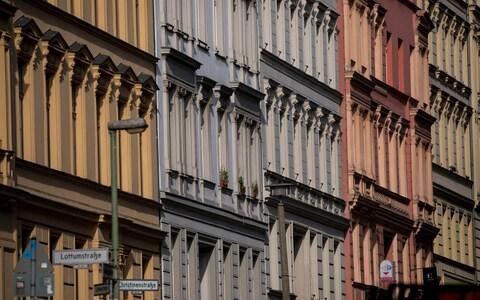 New and older apartment blocks stand in the Mitte district of Berlin - Credit: Krisztian Bocsi/Bloomberg