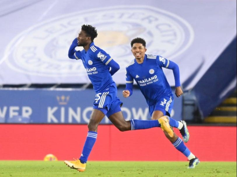 Wilfred Ndidi opens the scoringGetty Images