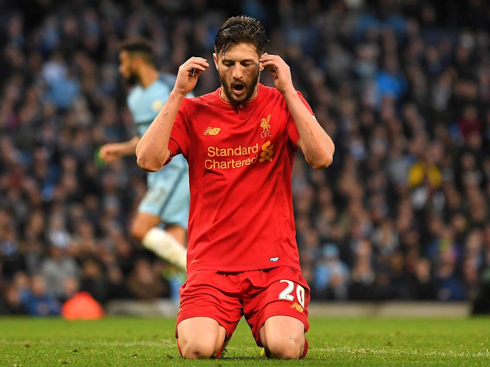 Lallana believes Liverpool can correct their problems against lower table teams as the season goes on: Getty