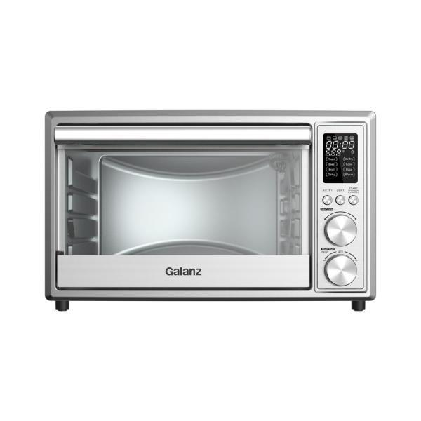 Galanz Stainless Steel Digital Air Fry Toaster Oven