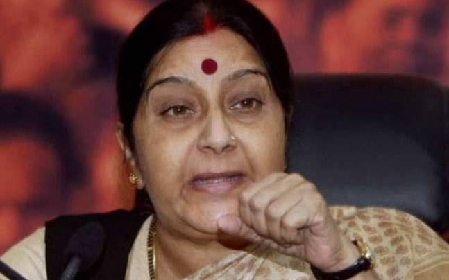 My ministry doesn't lack talent: Sushma on report of Tharoor helping draft statement on Jadhav