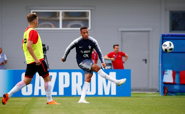 Soccer Football - World Cup - France Training - France Training Camp, Moscow, Russia - June 22, 2018 France's Corentin Tolisso during training REUTERS/Axel Schmidt