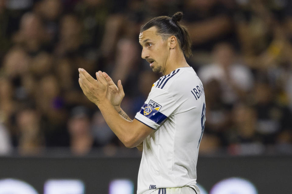 With Zlatan Ibrahimovic likely out the door, the Los Angeles Galaxy have some serious work to do. (Reuters)
