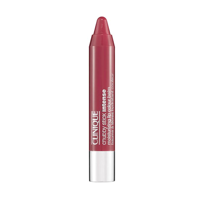 Chubby Stick Intense Moisturizing Lip Color Balm in Roomiest Rose. (Photo: Clinique)
